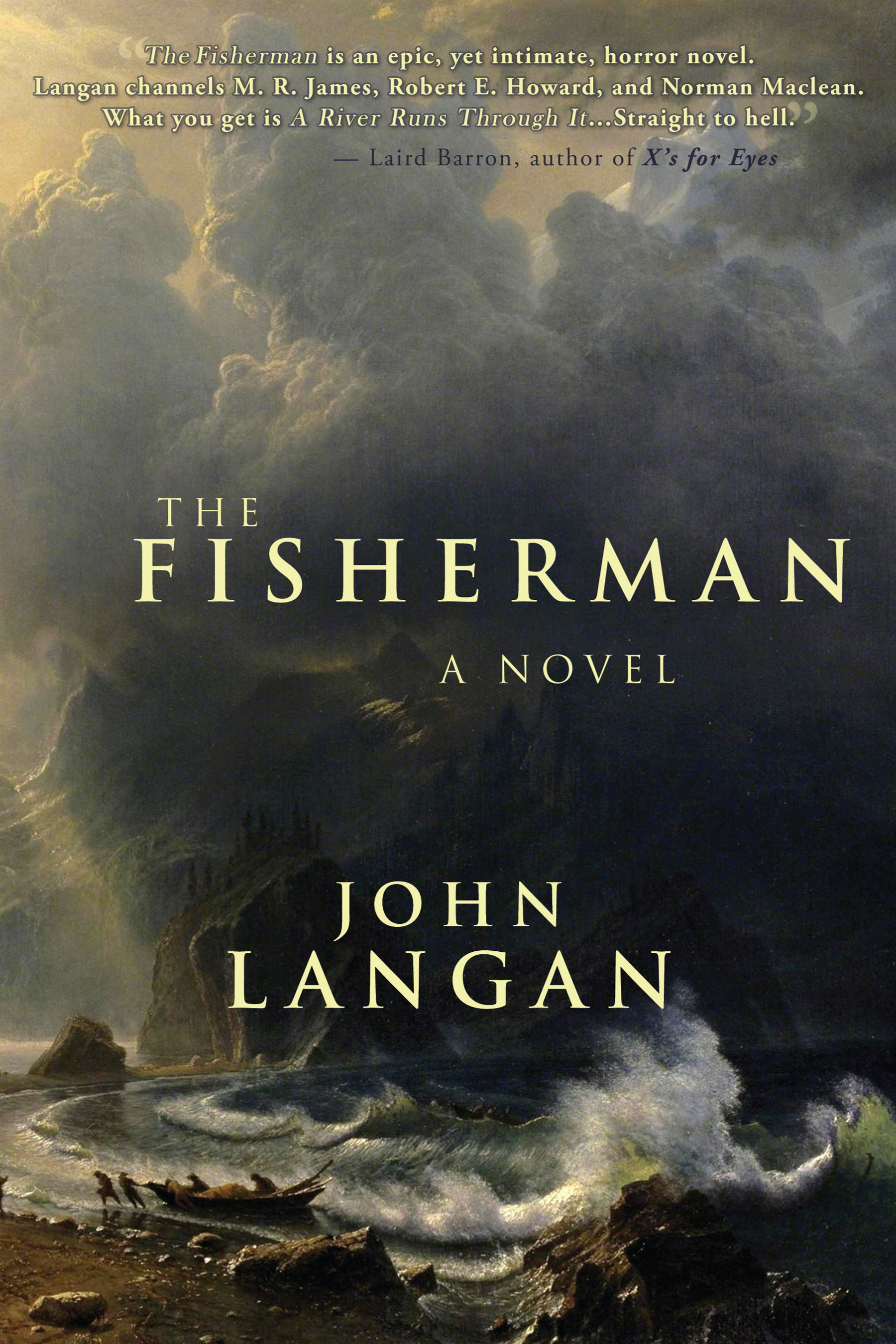 Image result for The Fisherman by John Langan